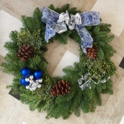 Custom Holiday Wreaths Los Angeles
