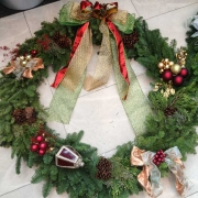Custom Holiday Wreaths Los Angeles