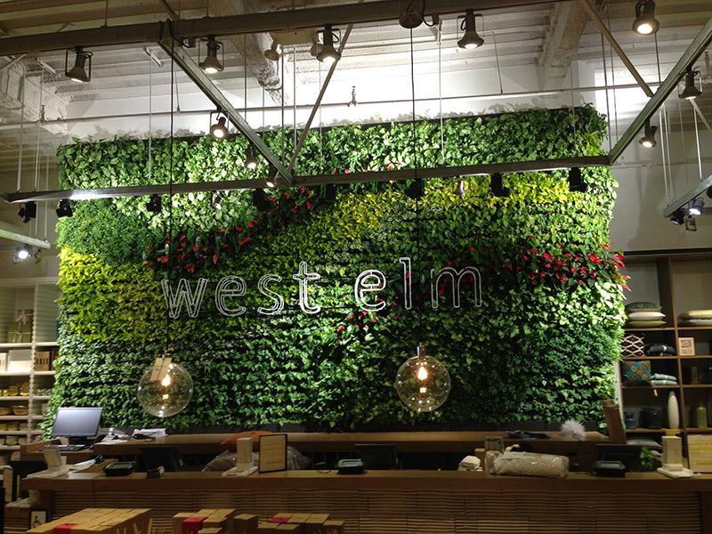 Living Walls Versawalls Interior Plant Design Los Angeles Indoor Plants